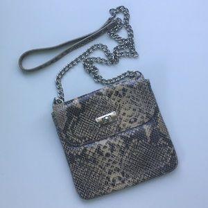 Banana Republic Faux-Snake Skin Crossbody Bag